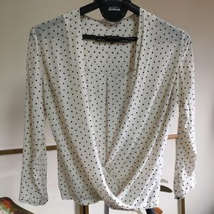 Club Monaco wrap top